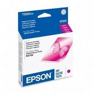 Magenta Ink Cartridge for Epson Stylus Photo RX700