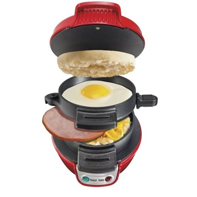 Breakfast Sandwich Maker - Red (25476)