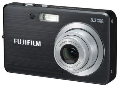 FINEPIX J10 8 MP Digital Camera (Black)