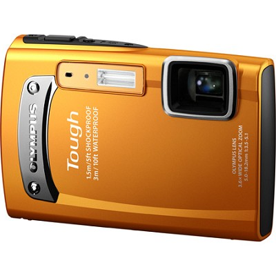 Tough TG-310 14 MP Waterproof Shockproof Freezeproof Digital Camera - Orange