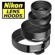 HR-2 Rubber Lens Hood (52mm Screw-In) for 50mm f/1.2 AI-S, 50mm f/1.4, 1.8 D-AF