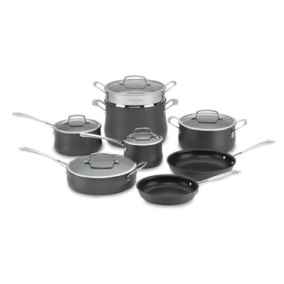64-13 Contour Hard Anodized 13-Piece Cookware Set