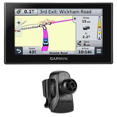 nuvi 2559LMT Advanced Series 5` GPS Navigation w Lifetime Maps Vent Mount Bundle