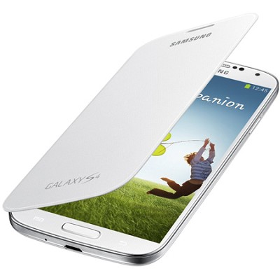 Galaxy S IV Flip Cover White