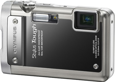 Stylus Tough 8010 Waterproof Shockproof Freezeproof Digital Camera (Black)