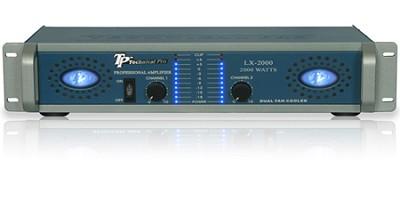 Pro Amplifier 2000 Watts (Blue/Silver)