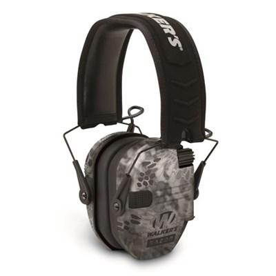 Razor Series Slim Lo Profile Ear Muffs Hearing Protection - Kryptek Camo