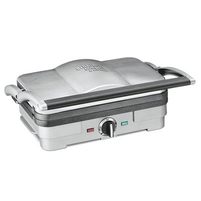 Griddler with Removable Cooking Plates, Factory Refurbished