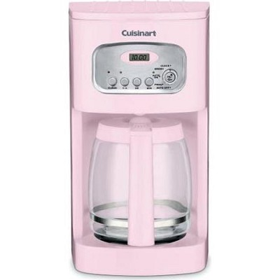 DCC-1100PK 12-Cup Programmable Coffeemaker (Pink)