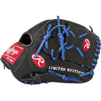 Gamer XLE 2016 Limited Edition Baseball Glove - Black/Blue, Right Hand Throw