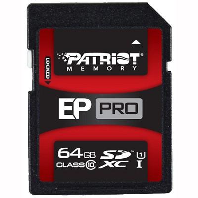 EP PRO Series 64GB SDHC/SDXC Class10 Flash Drive (PEF64GSXC10333)