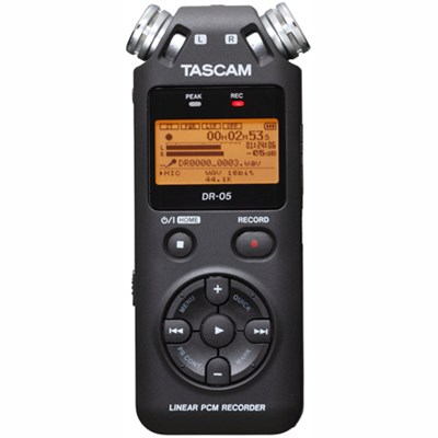 DR-05 - Stereo Portable Digital Recorder - OPEN BOX