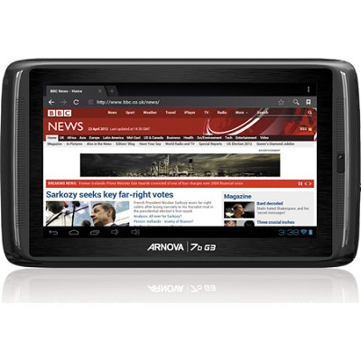 Arnova 7B G3 8GB 7` Internet Tablet with Android ICS 4.0, 1GHz Processor