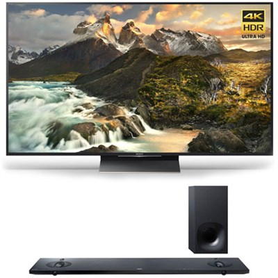 XBR-65Z9D - 65-inch 4K Ultra HD LED TV w/ HT-NT5 Sound Bar Bundle