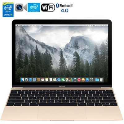 MacBook MK4M2LL/A 12` Laptop w/ Retina Display 256GB (Gold) - Refurbished