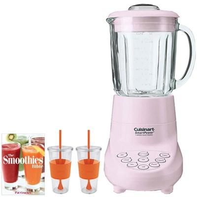 Smart Power 7 Speed Electric Blender (Pink) w/ Tugo Cup Mug Bundle