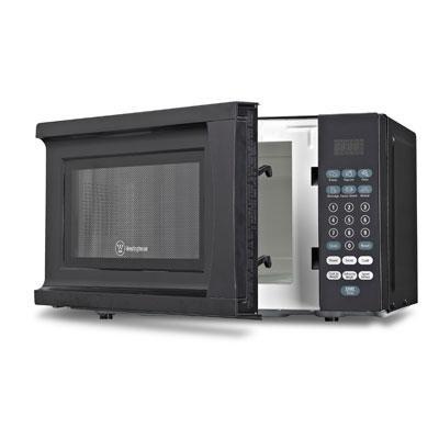W 0.7 cu Ft Microwave Black