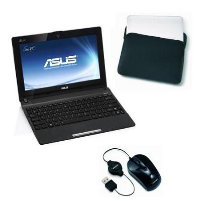 Eee PC X101CH-EU17-BK 10.1 LED Netbook W/Intel ATOM N2600 Dual Core- Matte Black