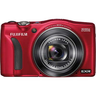 FinePix F770EXR 16MP EXR CMOS Digital Camera (Red)