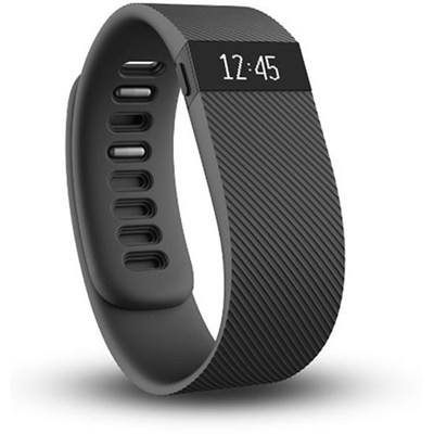 Charge Wireless Activity + Sleep Tracker Wristband - Black - Small - OPEN BOX