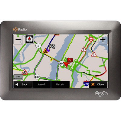 T43H GPS with HD Radio and Free HD Live Traffic Update
