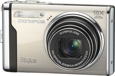 Stylus 9000 12MP 10x OPTICAL  ZOOM 2.7` LCD Digital Camera (Champagne) Bundle