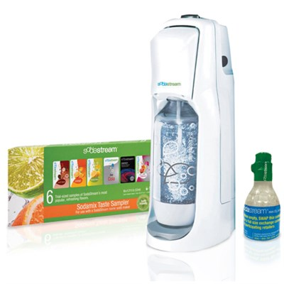 JET Home Soda Maker Starter Kit - White - OPEN BOX