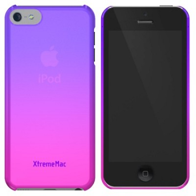 Microshield Case for iPhone 5/5S Fade - Purple/Pink