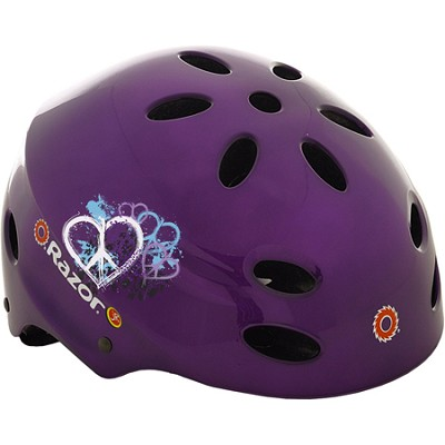 V17 Childrens Ages 5 - 8 Helmet - Gloss Purple