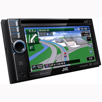 Bluetooth DVD/CD/USB/SD Navigation System w/ 6.1` Touch Panel Monitor (KWNT310)
