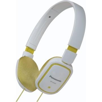 RP-HX40-G Slimz Light Weight On Ear Headphones (Green/White)