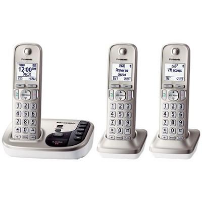 KXTGD223N Dect 6.0 3 Digital Cordless Handset