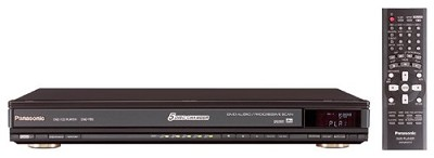 DVD-F85 Black 5-Disc Progressive Scan DVD Player