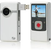 Flip Ultra Camcorder 2nd Generation, 120 Minutes - White