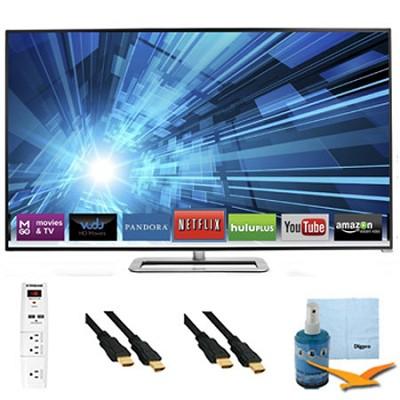 M401I-A3 - 40` 120Hz Razor LED Smart 1080p HDTV Plus Hook-Up Bundle