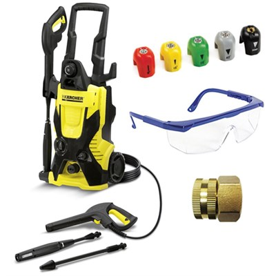 K4 X-Series 1900 PSI Electric Pressure Washer Deluxe Accessory Bundle