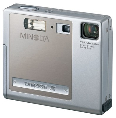 Dimage X Digital Camera