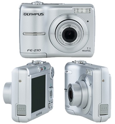 FE-210  7.1 Megapixel with 3x Optical Zoom