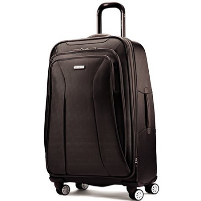 Hyperspace XLT Spinner 30 Exp Luggage Suitcase - Black