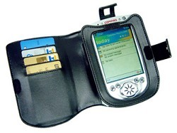 Fitted Leather Case for iPaq 4700 Series