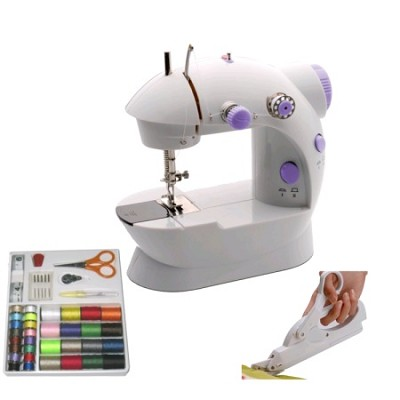 Junior Sewing Bundle: Sewing Machine, Electric Scissors, & Accessory Kit