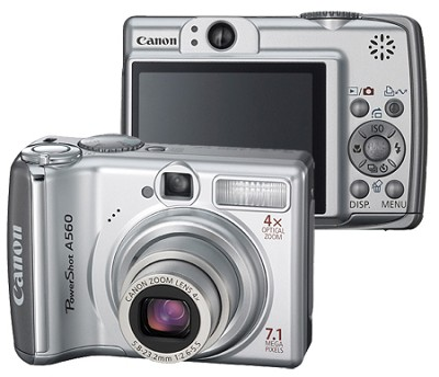 PowerShot A560 Digital Camera - REFURBISHED