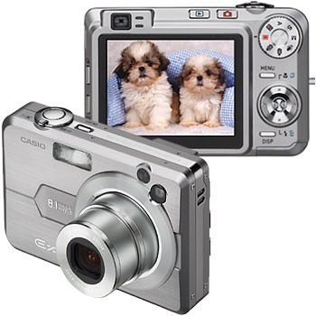 Exilim EX-Z850 8MP Digital Camera with 2.5` LCD