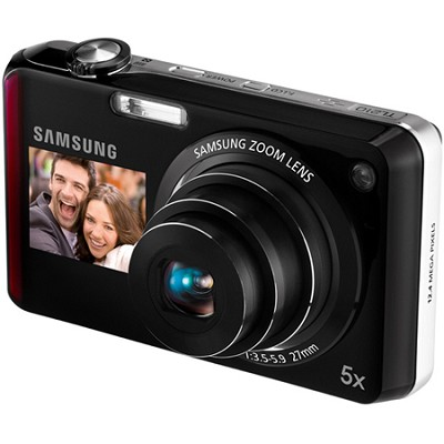 TL210 DualView 12MP Red Digital Camera