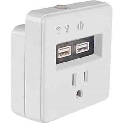 Wi-Fi Home Automation Smart Plug With Dual USB - HA-1001