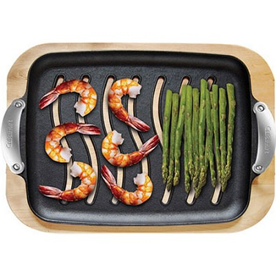 Cast Iron Grill Platter Set
