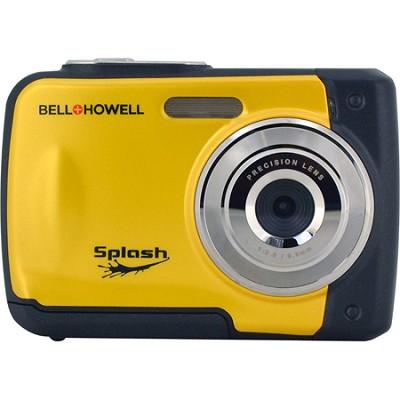 Splash WP10 12MP Waterproof Camera, (Yellow)