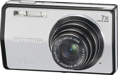 Stylus 7000 12MP 3` LCD Digital Camera (Silver)