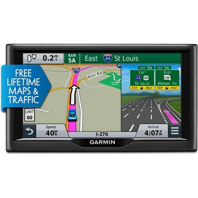 nuvi 67LMT 6.0` Essential Series 2015 GPS Navigation System w/ Maps & Traffic
