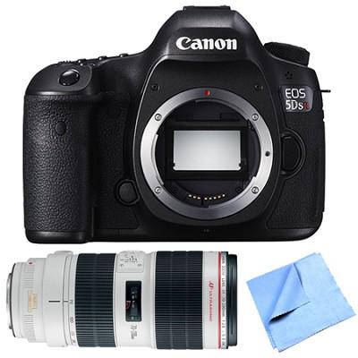 EOS 5DS R 50.6MP Digital SLR Camera Zoom Lens Bundle